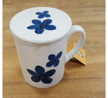 ChaCult Porzellan Tasse mit Sieb