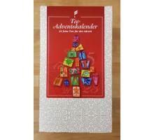 Tee-Adventskalender 24 Pyramidenbeutel Spenderbox