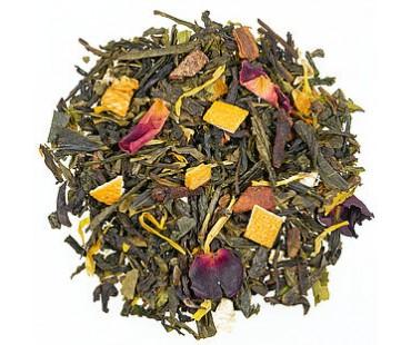 Bio Grüner Tee Santa´s Hanftrunk, natürlich aromatisiert