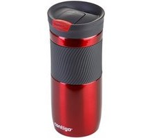 Contigo Byron Snapseal Thermobecher für Tea to go rot
