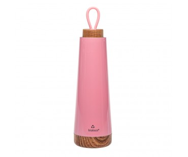 "Thermosflasche Bioloco loop ""pink"""