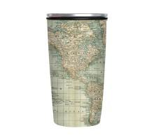 "Tea to go SlideCup ""Antique Map"""