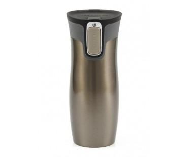Contigo Westloop Autoseal Thermobecher für Tea to go latte/braun