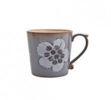Denby Heritage Lilac Heath Accent Large Mug