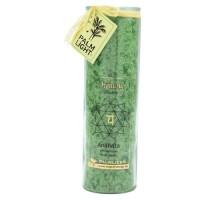 Chakra Kerze, ca 20 cm, grün