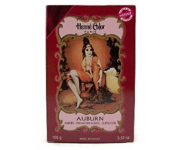 Henna Pulver Mahagoni Dunkel