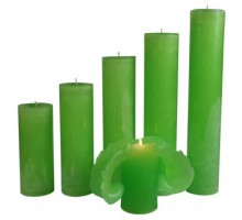 Maria Buytaert Kerze Klassik Grasgrün 17-27cm