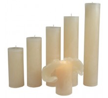Maria Buytaert Kerze Klassik Wollweiß 17-27cm