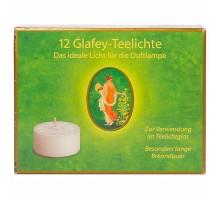Primavera Glafey-Teelichte 12 Stück