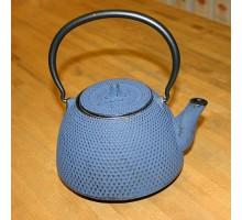 """Teekanne """"Arare"""" blau Gusseisen"""