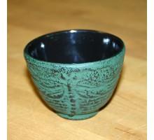 """Teeschale """"Mito"""" Gusseisen dunkelgrün"""