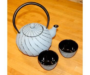 """Teekanne """"Kiyoko"""" grau Gusseisen"""