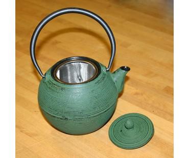 """Teekanne """"Iruma"""" grün Gusseisen"""