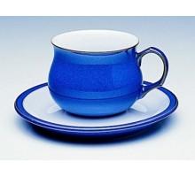 Denby Imperial Blue Tee-/Kaffeeuntertasse