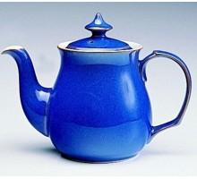 Denby Imperial Blue Teekanne
