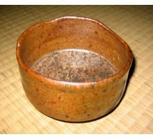 Matchaschale handgefertigt bronze