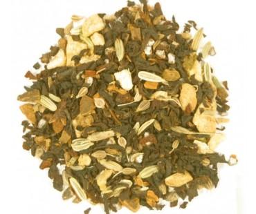 Bio Schwarzer Tee Masala Chai -ohne Aroma-