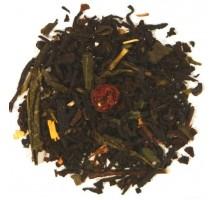 Schwarzer Tee Fit & Schlank